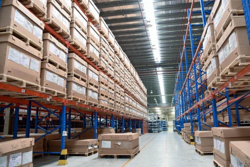 Palletstelling magazijn BJ Solutions